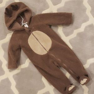 Carters Reindeer Bunting Suit